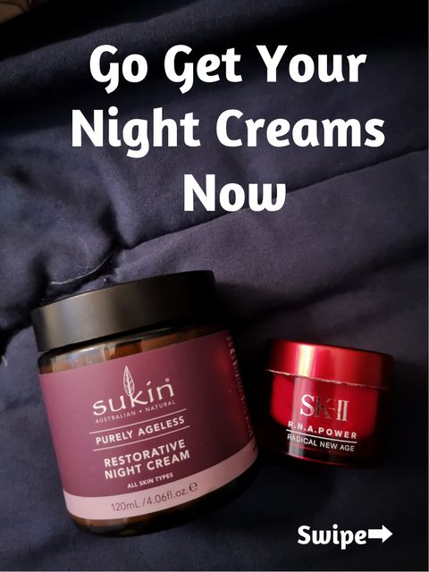 Getting A Perfect Skin While You Are Sleeping💤💤💤