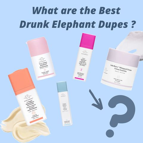 💰💰Money saved!9 Drunk Elephant Skincare Dupes Recommended by Youtuber Cassandra Bankson👍👍!(2)