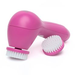 Pink Swirl Facial Cleansing Brush 2.0