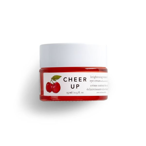 Cheer Up Brightening Vitamin C Eye Cream with Acerola Cherry, FARMACY, cherie