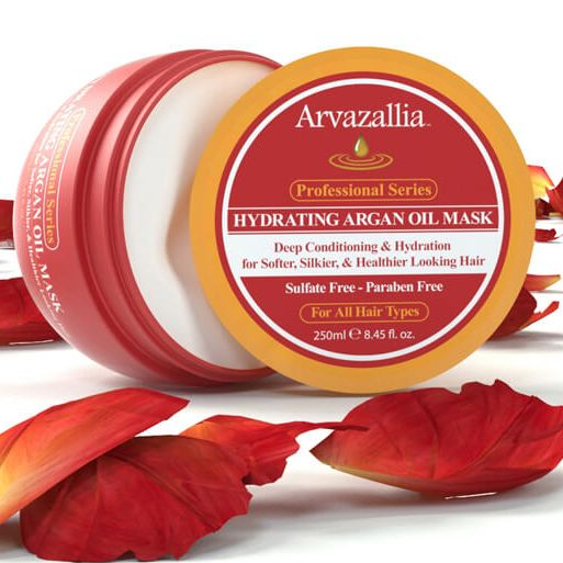 Arvazallia Hydrating Argan Oil Hair Mask, Arvazallia, cherie
