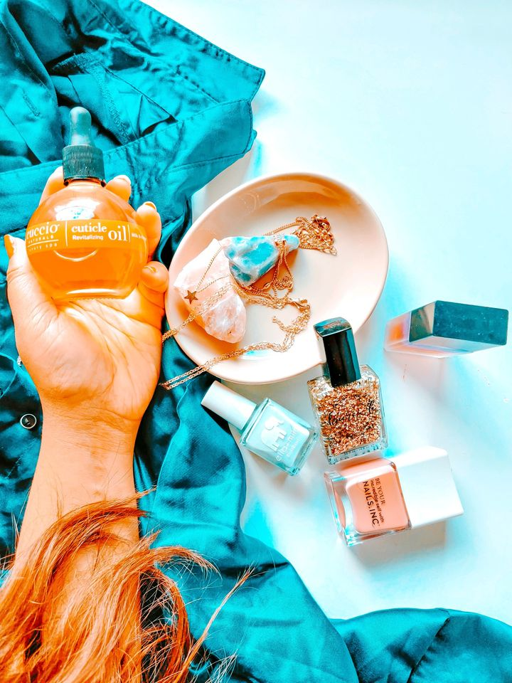 Cuticle oil and energizers for Fall and Winter �
