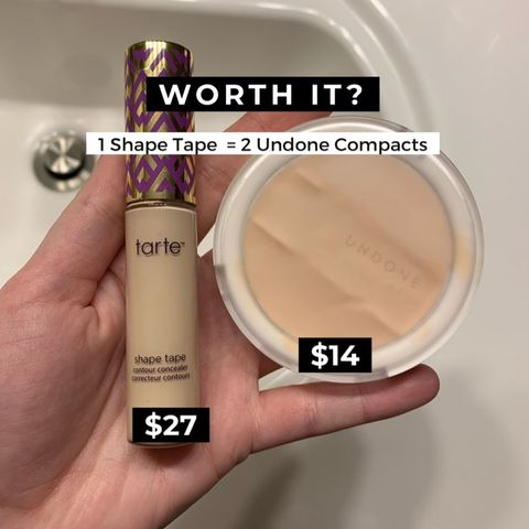 Which concealer is more worth it? Tarte & Undone