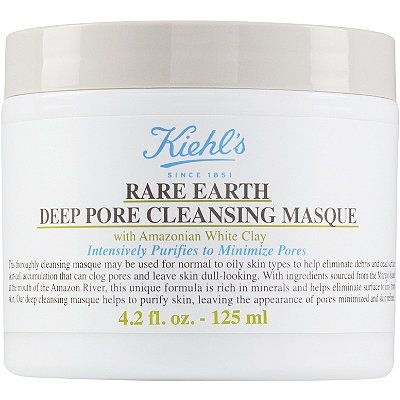 Rare Earth Deep Pore Cleansing Masque, Kiehl's, cherie
