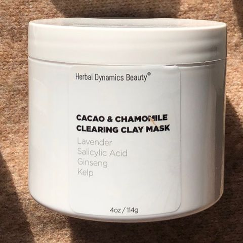 Herbal Dynamics Cacao & Chamomile Clay Mask