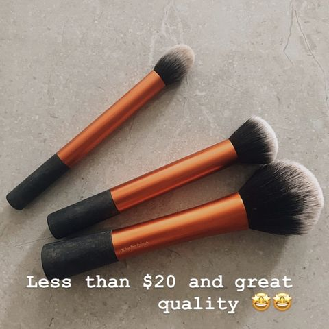 Drugstore price, pro quality: real technique brushes are totally a steal!