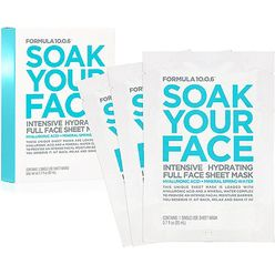 Soak Your Face Intensive Hydrating Full Face Sheet Mask