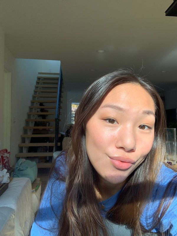 my no foundation zoom look   Cherie