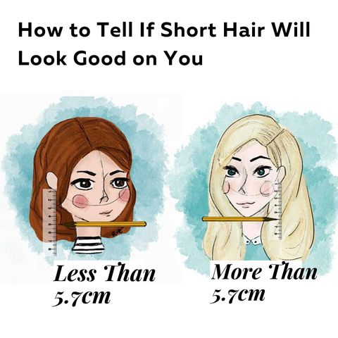 A 2-Second Trick to Find Out Would U Look Good with Short Hair!