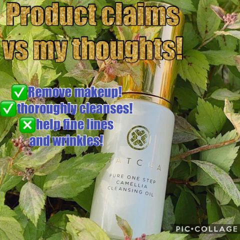Product claims vs my thoughts!
