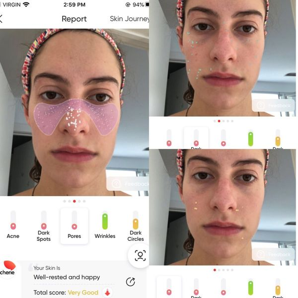 Check out the face scan feature on this app!! | Cherie