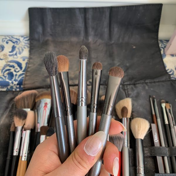 My go-to eyeshadow brushes | Cherie