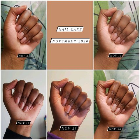 How to grow strong nails 💪🏾