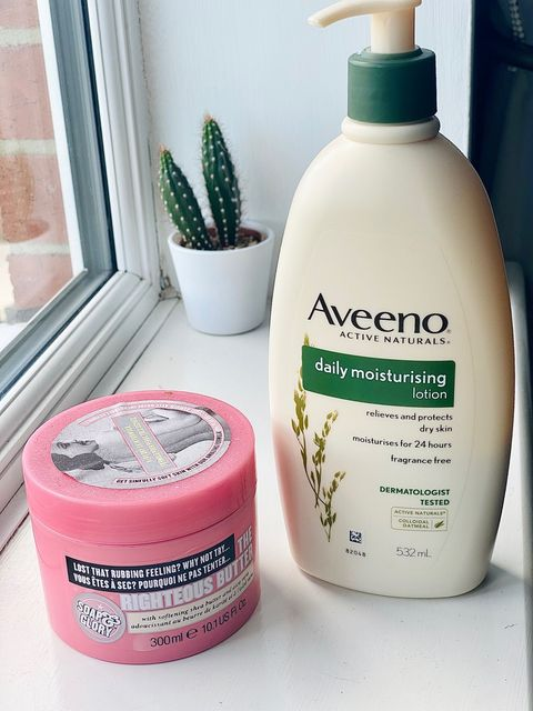 Battle of the Body Cream - Aveeno vs Soap and Gl