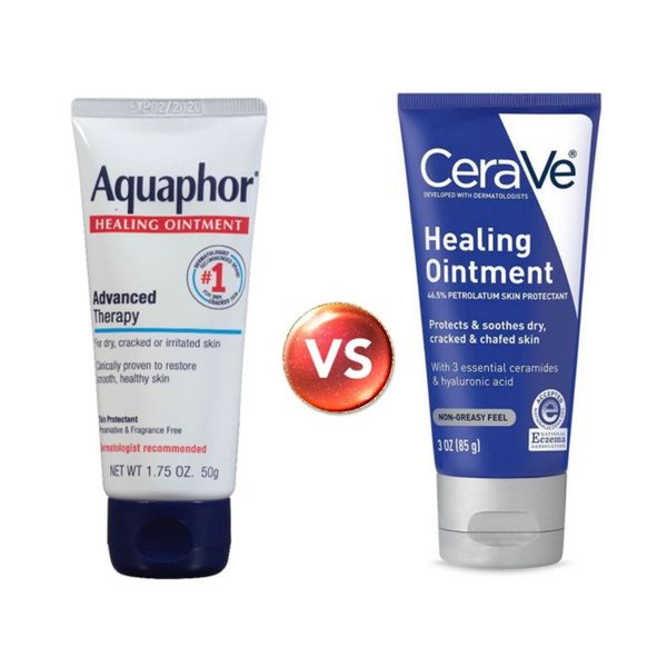 Battle of the Ointments: CeraVe VS Aquaphor! | Cherie