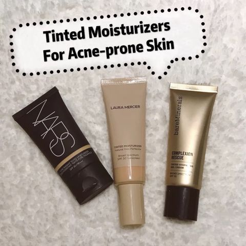 3 Tinted Moisturizers for Acne Prone Skin Reviews