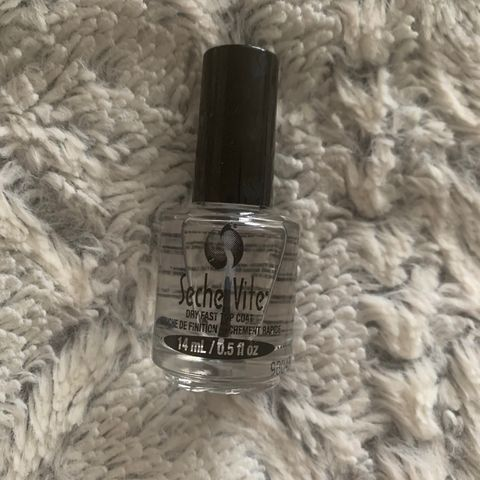 The only top coat I'll use