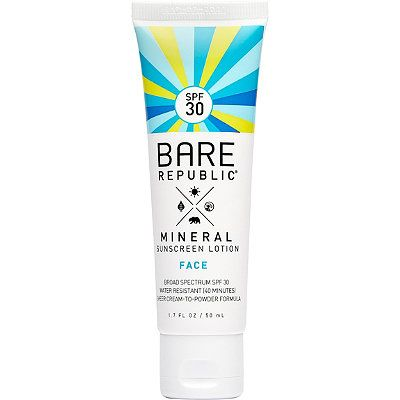 Face Mineral Sunscreen Lotion SPF 30