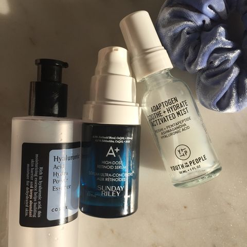 Mix & match: retinol + HA 💦
