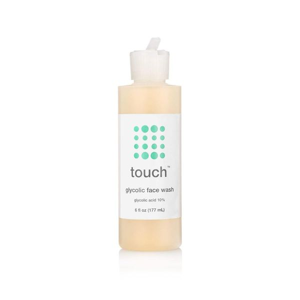 Glycolic Acid Face Wash, touch, cherie