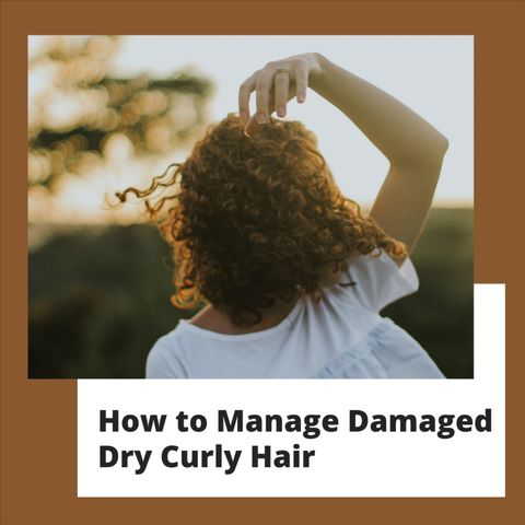 Is your Curly Hair Damaged? Here's how to FIX it!
