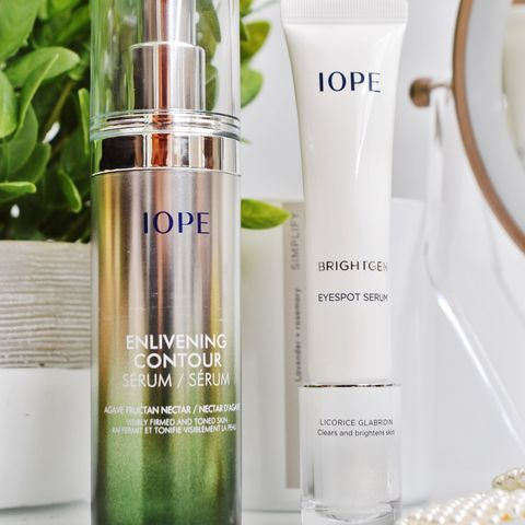 Iope Enlivening Serum and Eye Cream
