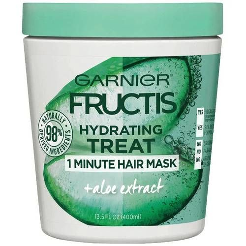 Hydrating Treat 1 Minute Hair Mask + Aloe Extract
