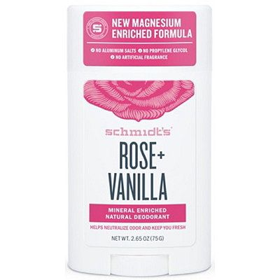 Rose + Vanilla Natural Deodorant