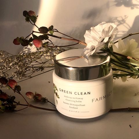 Farmacy Green Clean Makeup Meltaway balm