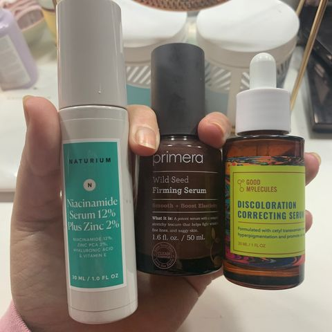 My favorite serums for every need!
