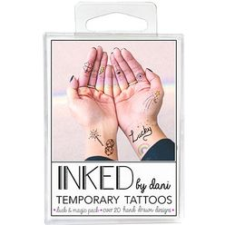 Temporary Tattoos Luck & Magic Pack