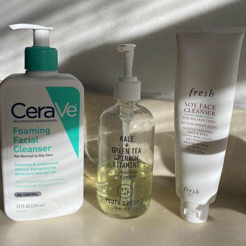 Favorite cleansers & current haircare!