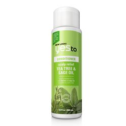 Yes to Tea Tree & Sage Oil Scalp Relief Conditioner