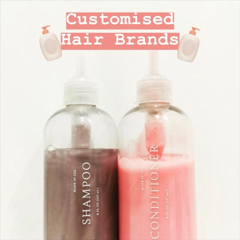 The search is over, a custom hair care is what you need.