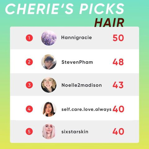 Cherie Picks the Best in Hair