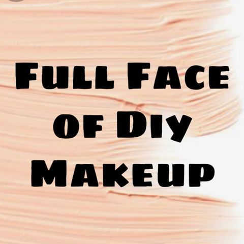 Full Face of Diy Makeup Challenge 💄