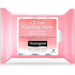 Pink Grapefruit Oil-Free Cleansing Wipes