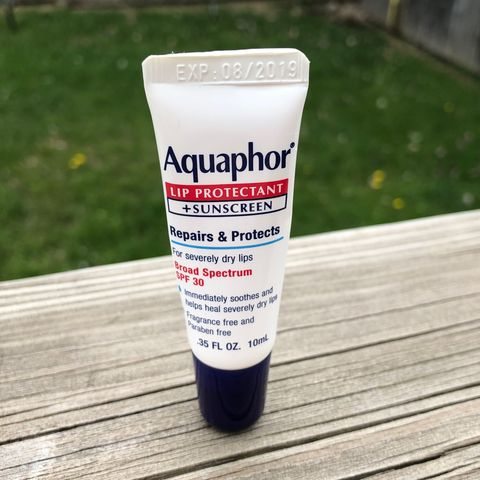 Aquaphor Lip Protectant + Sunscreen☀️