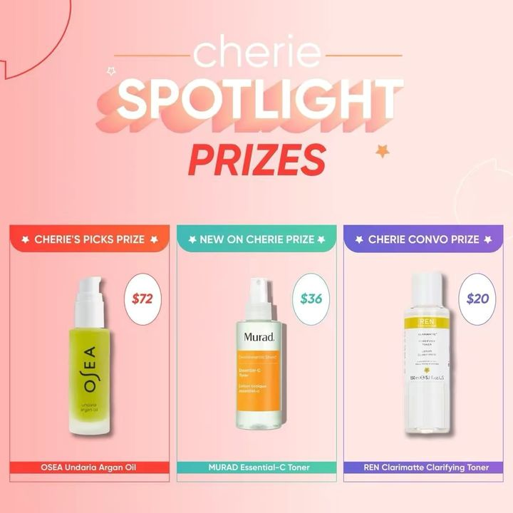 This week's ✨Cherie Spotlight ✨ w/o Jan 11