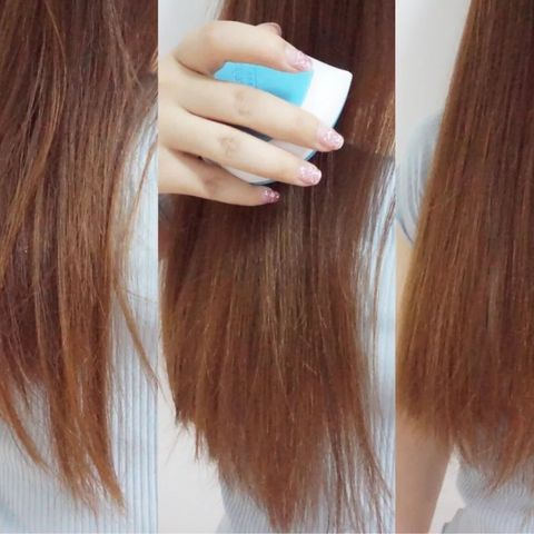 Save your tangled hair: a magic brush!