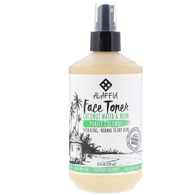 Everyday Coconut, Face Toner, Purely Coconut, Normal to Dry Skin