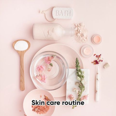 Updated skin care routine