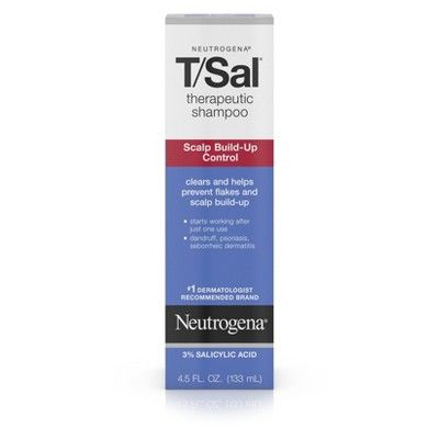 T/Sal Scalp Build-Up Control Therapeutic Shampoo, Neutrogena, cherie