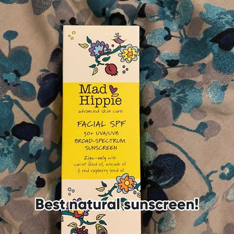 Natural sunscreen for the win!