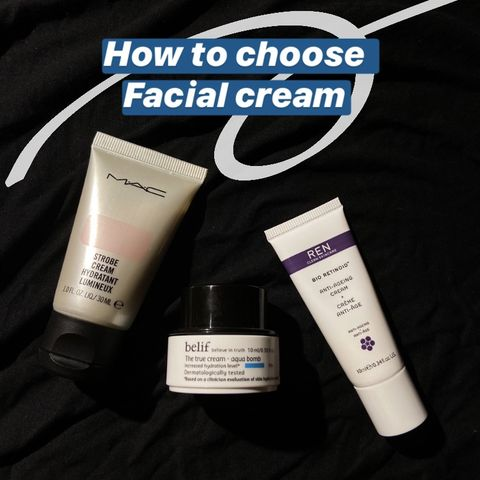 How to choose facial cream? These three are my fav! 💗