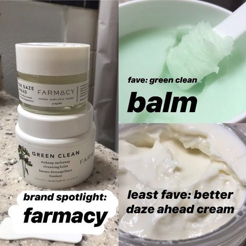 Farmacy: my fave and least fave product