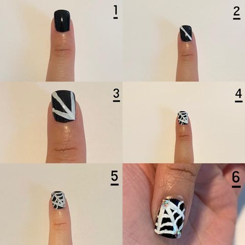 Halloween Nails 👻 🕸  A Step by Step Guide