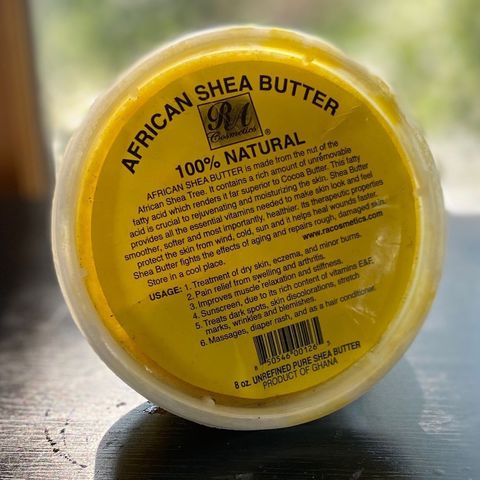 Shea Butter for 4C, Kinky, Coily Hair