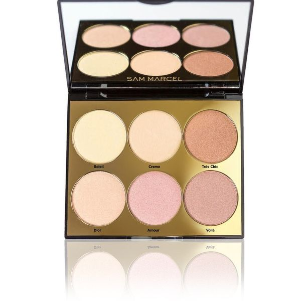 That Glow Glow Highlight Palette, SAM MARCEL, cherie