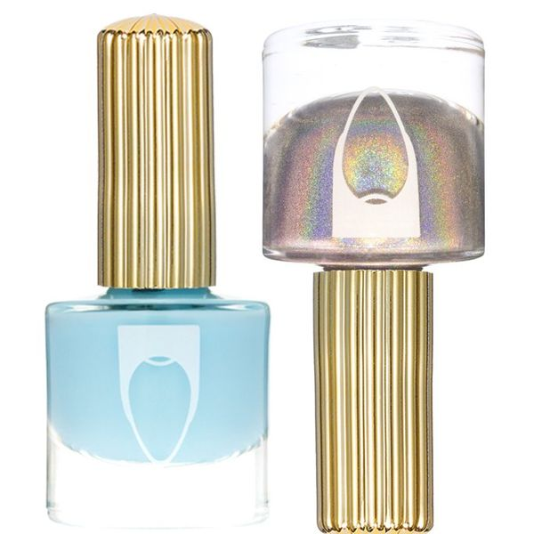 Baby Blue Jean Duo, FLOSS GLOSS, cherie